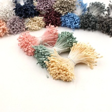 360pcs artificial flower matte double-headed mini stamens cakes decorated flowers DIY wreaths Christmas scrapbook accessories
