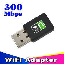 Mini Portable USB 2.0 300Mbps Wireless Network Card USB Router wifi Signal Receiver Adapter WI-FI Sender Internet for PC Laptop(China)
