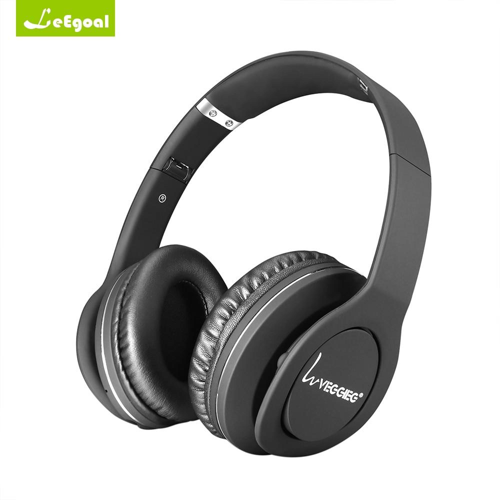 Leegoal Nfc Headset Wireless Headphones Headband Foldable Stereo Bluetooth Headphones Bluetooth V4.0 EDR Headset for Android IOS<br>