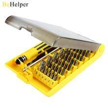 BeHelper 45 in 1 Magnetic Screwdriver Set Torx Screwdriver Bit Tool Kit for Watch PC iPhone Smart Phone Repair Dismantle Tools