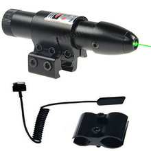 Universal Green Laser Sight Fit For 11mm 20mm Rail Hunting Airsoft Air Guns Tactical Rifle Without Battery(China)