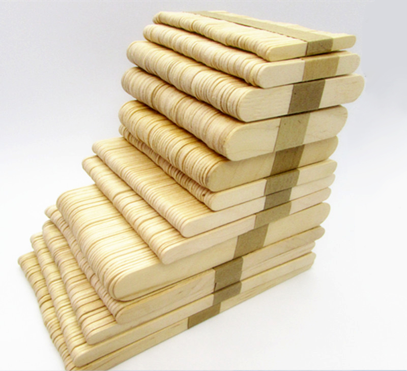 50pcs/lot Popsicle Stick Wooden Lollipop Popsicle Sticks Ice-lolly, Angle Edge Length 180mm Ice Pop Sticks<br><br>Aliexpress