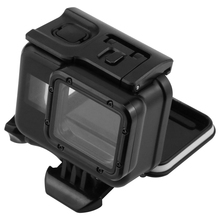 Go Pro Accessories 60M Watertight For Gopro Hero 5 Waterproof Housing Case + Touch Screen Backdoor Cover Black