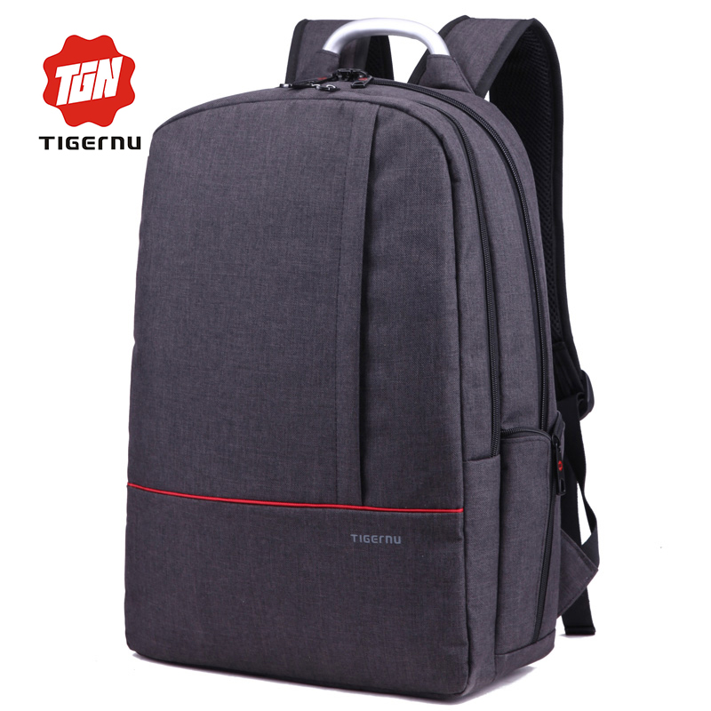 2017 Tigernu Brand Backpack Men Female Mochilas Escolar Fashion Computer Backpack Laptop 15.6 Inch School Bag for teenagers<br><br>Aliexpress