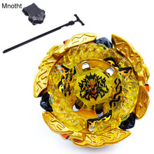 Mnotht Toy Fusion Beyblade Masters Metal BB99 Hades / Hell Kerbecs W/ Power Launcher+Winder Classic Toy Spinning Top Toys(China)