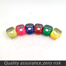 10pcs/lot Mini LCD Electronic Digital Golf Finger Hand Held Tally Counter musabah hatim tasbih for muslim