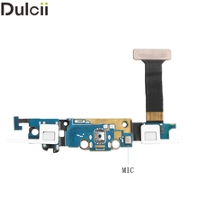 Dulcii Mobile Phone Parts for Galaxy S6 Edge G925 OEM Charging Port Flex Cable Replacement for Samsung Galaxy S6 Edge SM-G925A