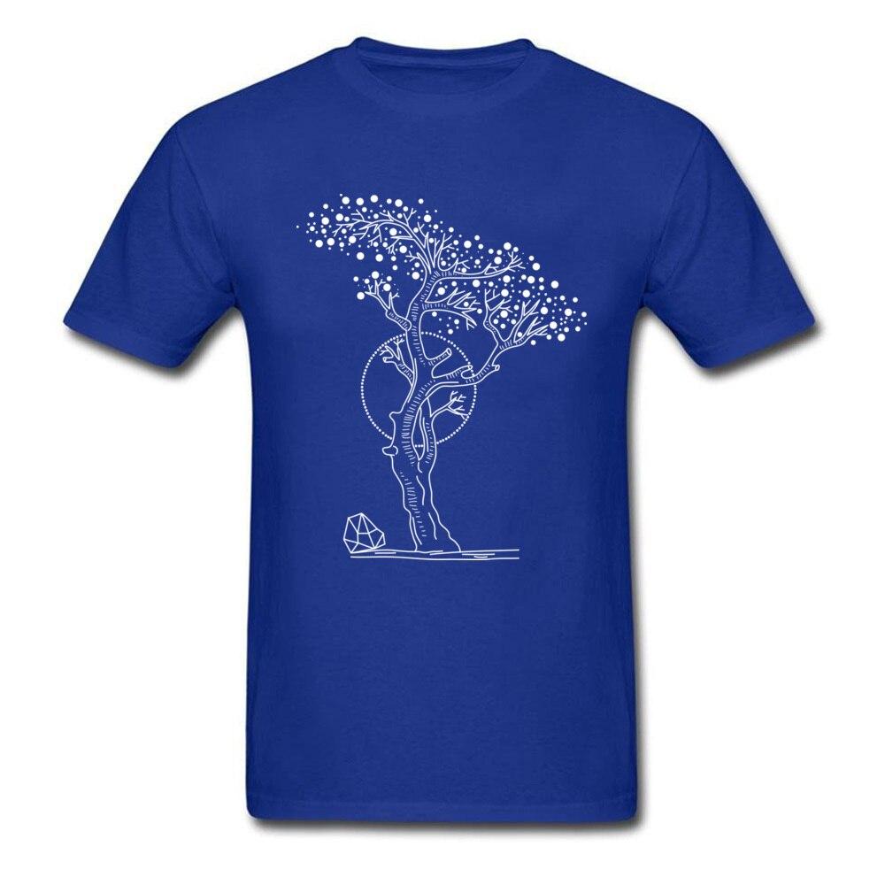 Pointilism Tree Life_blue