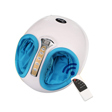 220v High Quality Electric Antistress Foot Massager Feet Massage Spa Machine Infrared Foot Care Device With Heating & Therapy(China)