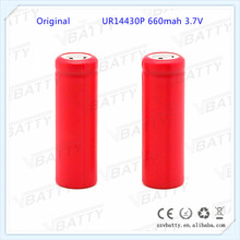 for Sanyo 14430 660mAh battery UR14430P 3.7V lithium battery 14430 for electronic tools (1pc)(China)