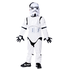 Shanghai story New Child  White Warrior Halloween Costume Kids Cosplay Party Fancy Dress