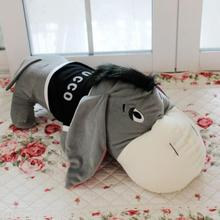Free shipping 80cm donkey doll donkey plush toy good as a gift soft stuffed toy