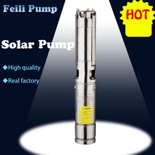 1.88kw 3inch Grass Impeller Solar Pump Solar Water Pump