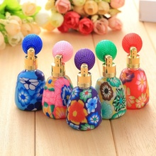 12ml Perfume Atomizer Empty Refillable Scent Devider Vintage Bottle Spray Colorful Random Hot High quality
