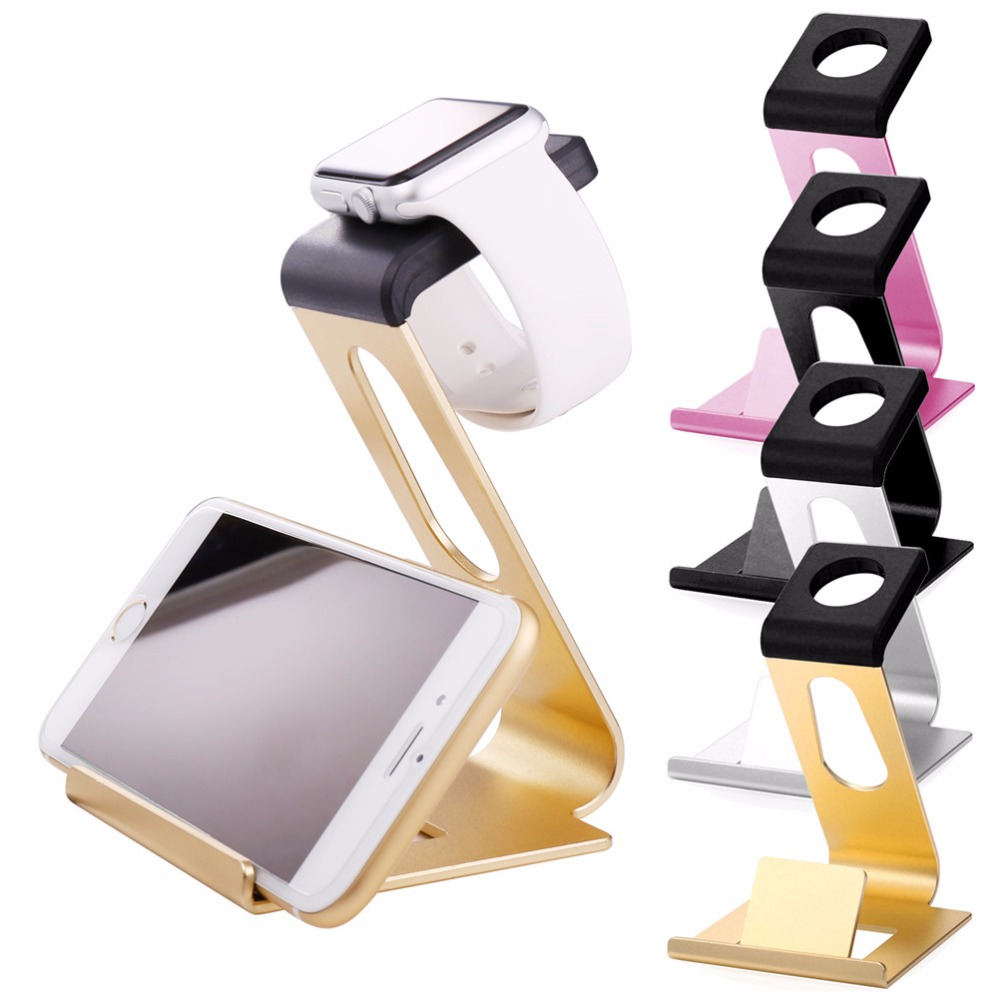 Top Charging Holder Universal Stand For Apple Watch iWatch iPhone iPad Portable Stand Charger Dock Station Cradle PH1899<br><br>Aliexpress