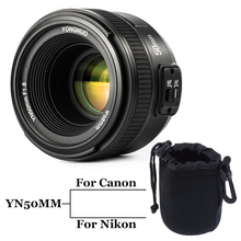 INSEESI YONGNUO YN50MM F/1.8 Large Aperture Auto Focus Lens yn50mm AF/MF Lense for Canon EOS Or Nikon DSLR Camera 50mm f1.8 lens(China)