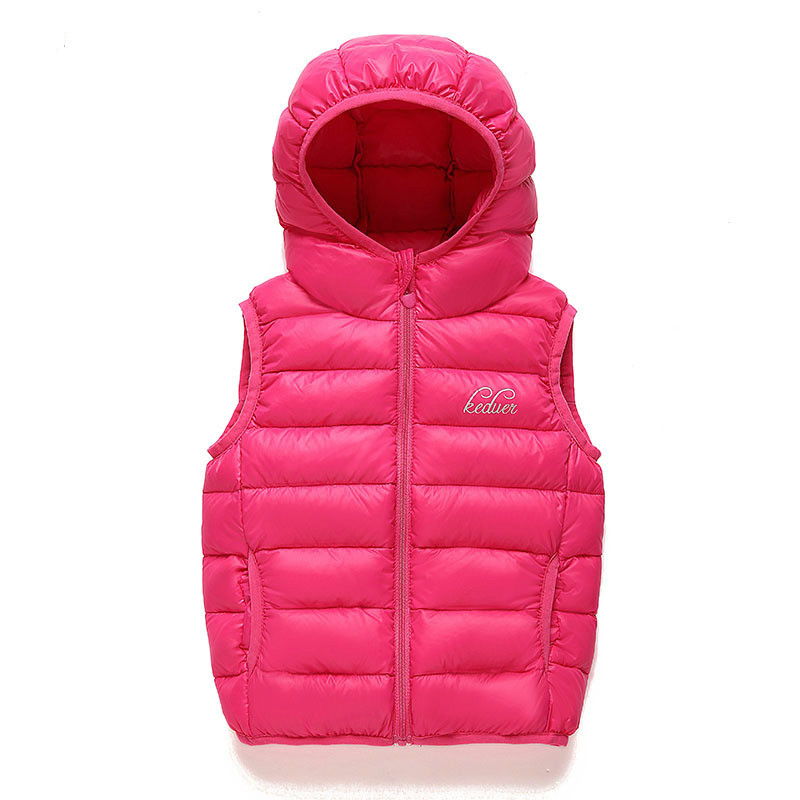 Popular Fashion Leisure Childrens Clothing Boy And Girl Hooded Children Down Jacket Thin Children Down Vest Kids Winter JacketОдежда и ак�е��уары<br><br><br>Aliexpress