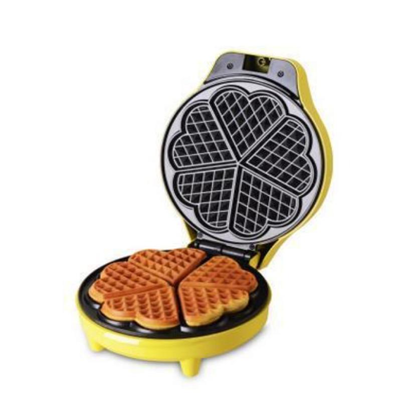 Popular Waffle Maker Stainless Steel Cake Maker Heart Shape 220V/50HZ<br>