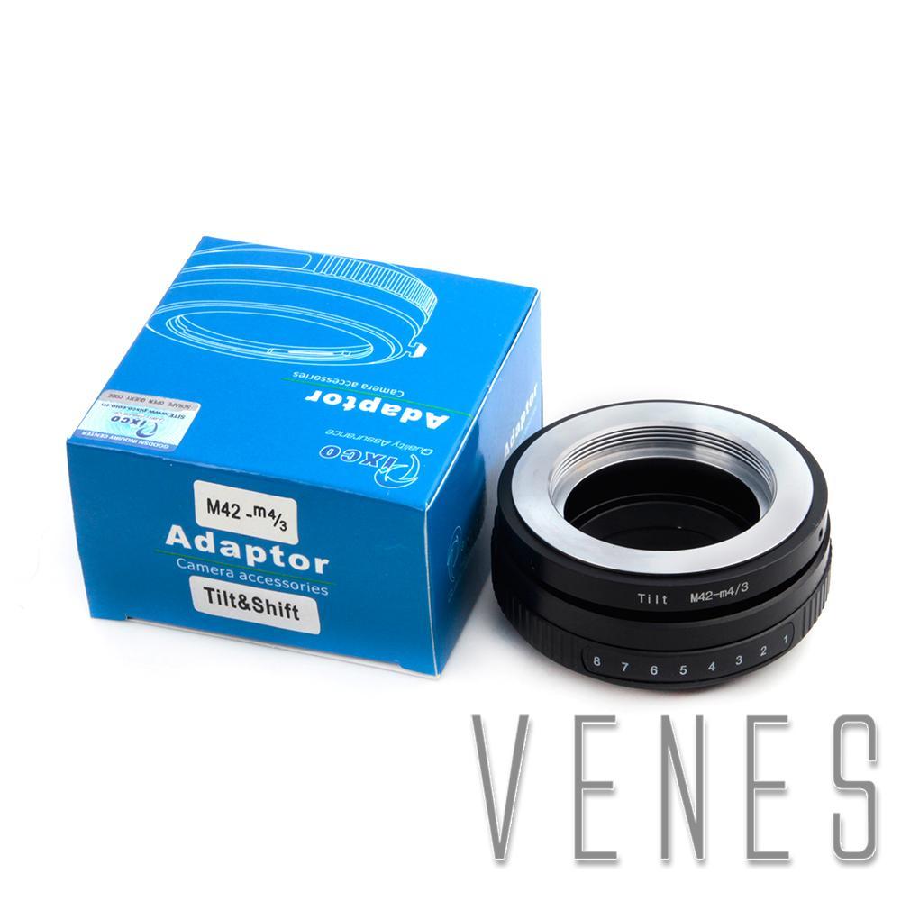 Pixco Tilt Lens Adapter Ring Suit For M42 Lens to Micro 4/3 Mount Ring Camera G10 GF3 GH3 E-PL3 E-PM1 E-PL2 E-PL1 E-P2 E-P1