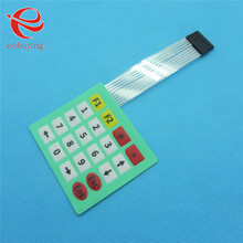 Membrane Switch 20 Key 4x5 Matrix Array Keypad Keyboard Control Panel Microprocessor Keyboard Controller for Arduino 5*4