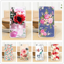 Original Style Case For Lenovo S60 S60T Fashion Colorful Cover Sparkle Flower Painting Perfect Design Case Cover For Lenovo s60