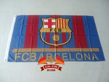 FC Barcelona football flag , can custom print file,90X150CM size,100% polyester FC Barcelona football banner