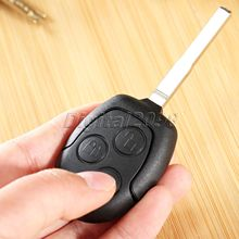 Remote Key Case Shell 3 Buttons Replacement for FORD C-Max Fiesta Focus Galaxy Mondeo S-Max Connect Uncut Blade Car Key Case Fob