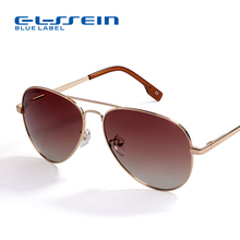 COLOSSEIN Pilot Style Sunglasses Men Women Vintage Oval Lens Classic Brown Driving Adult Glasses Fashion Eyewear(China)