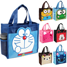 mickey Hello Kitty My Little Melody Stitch Mini Small Lunch Box Bags for Kids School Tote Picnic Food Bag