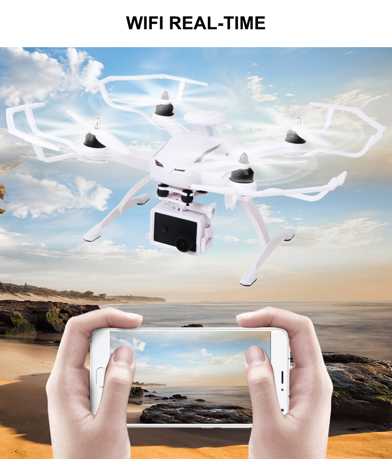 AOSENMA CG035 RC Helicopters WIFI Drone with Camera HD 1080P Quadcopter Gimbal GPS Brushless Motor Follow Me Mode -5