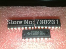 Free Shipping One Lot 4pcs 74HC138 74HC138N IC 3-to-8 Line Inverting Decoder/Demultiplexer DIP-16