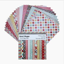 "24pcs 6"" DIY Album Scrapbooking Pads Tissue Paper Origami Decor Card Making Background Packs Paper Mixed Pattern Handmade Crafts(China)"