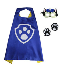 Patrol Puppy Kids Capes And Masks Puppy Canine Cape Cosplay For Children Party Costumes and Halloween Gift Puppy Patrol(China)