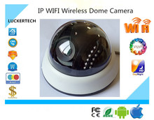 Luckertech IP WIFI Wireless Dome Camera Indoor 1080P 1920*1080 Support 32G Mini SD Card P2P XMeye Audio CCTV Survillance