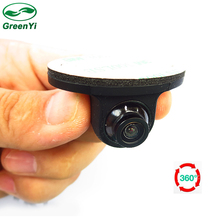 Good Quality. MiNi 360 Degree Rotation HD CCD Parking Assistance Camera Front / Side / Rear View Camera For Car DVD Monitor