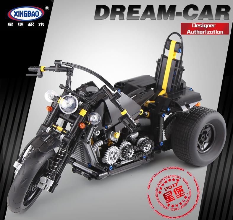 Xingbao XB-03020 Harley Davidson Motorcycle Building Block 13
