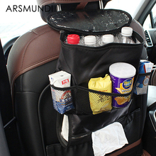 Auto Ice Pack Type Bags Folding Car Back Chair Table Food Drink Cup Holder Tray Hot Selling Stowing Tidying Desktop Support(China)