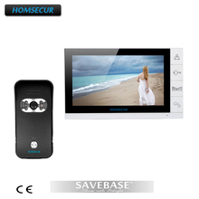 HOMSECUR New Wired Video Door Phone Doorbell Intercom System 1XCamera And 1X9Inch Monitor(China)
