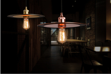 Modern contracted metal Restaurant droplight Nostalgic creative personality bar cafe flying saucer droplight(China)