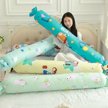 1pcs 110cm Comfortable Soft Sweet Shape Cylindrical Plush Stuffed Pillow  Kids Toy for Children Room Bed  Toys