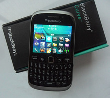9320 Blackberry cell phone with unlocked and original QWERTY Keyboard WIFI 2.4 inch 3.2MP camera refurbished ,Free shipping