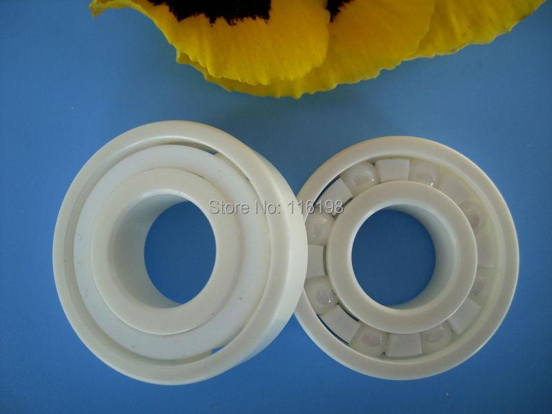 6204 full ZrO2 ceramic deep groove ball bearing 20x47x14mm<br>
