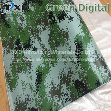 10/20/30/40/50/60x152CM Green Digital Camo Vinyl Sticker for car body decoration Digital Camouflage Vinyl for laptop decoration
