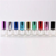 100 pieces a lot  8ml Atomizer Perfume Bottles 3D Skull Design Perfume Bottle Mini Portable Travel Refillable Perfume Atomi