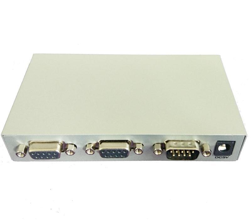 Computer-peripheriegeräte 4 Port Rs-232c Db9 9-pin Manuelle Schalter Für Pc Rs232 Serial Port Schalter Sharing Splitter Gerät Stahl Fall Online Rabatt