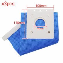 2PCS High quality Replacement Part Non-Woven Fabric BAG DJ69-00420B For Samsung Vacuum Cleaner dust bag Long Term Filter Bag(China)