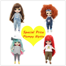ICY Nude Factory Blyth doll Special Price Cute Plump Lady,suit for dress up by yourself,Fat body.(China)