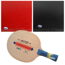 Pro Table Tennis Combo Paddle Racket Galaxy YINHE W-6 Blade with 2x 729 Super FX Rubbers