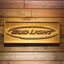 Bud Light 3D Wooden Sign(China)