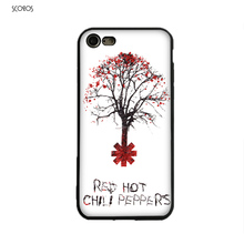 SCOZOS Tree Of Red Hot Chili Peppers Phone Case Soft Cover For Iphone 5 5S Se 220x220xz